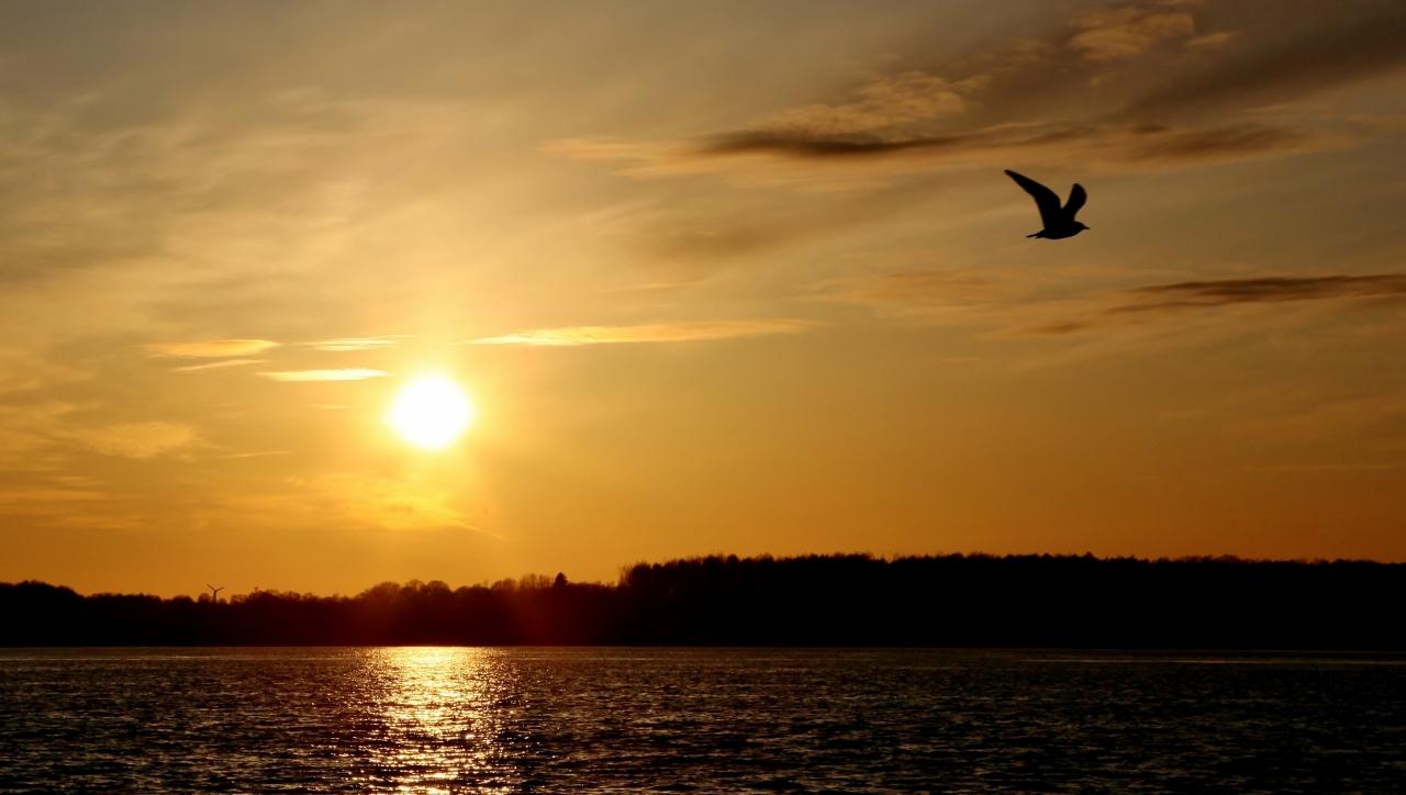 Laboe Sonnenuntergang