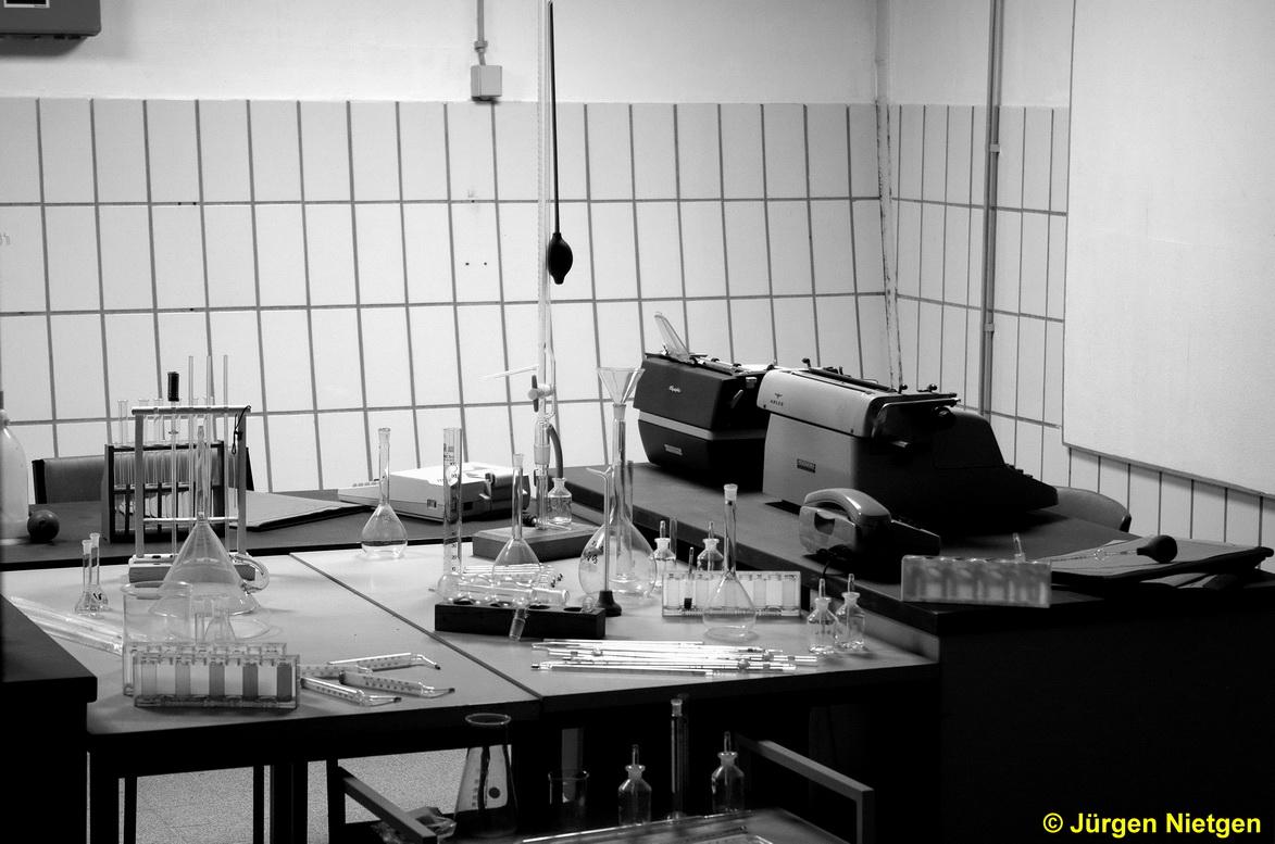 Labor des ehemaligen Regierungsbunker