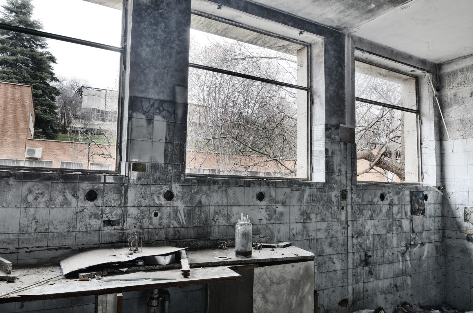 Laboratorio abandonado