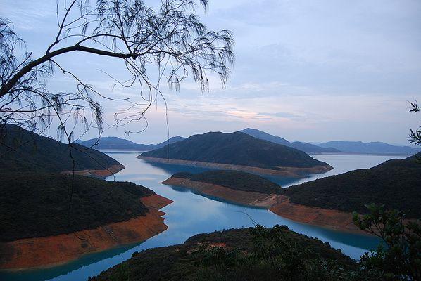 Labyrinthe d'eau Hong Kongais