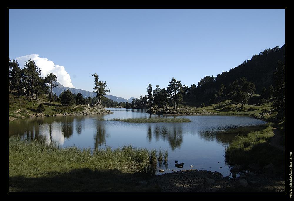 Lac Achard (Massif de Belledone) - Juillet 2006