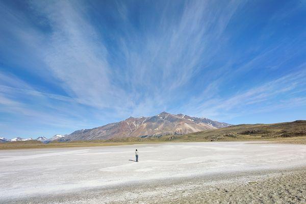 Lac blanc de Patagonie