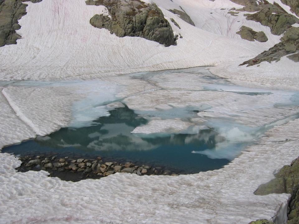 Lac Blanc fin juin