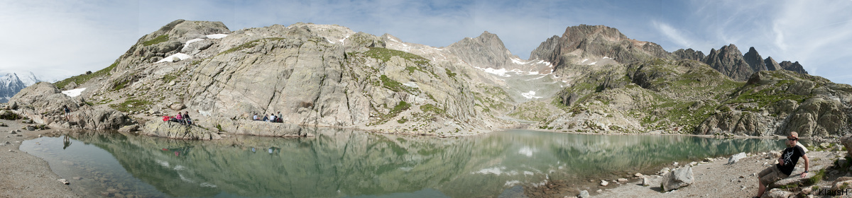 Lac Blanc Panorama