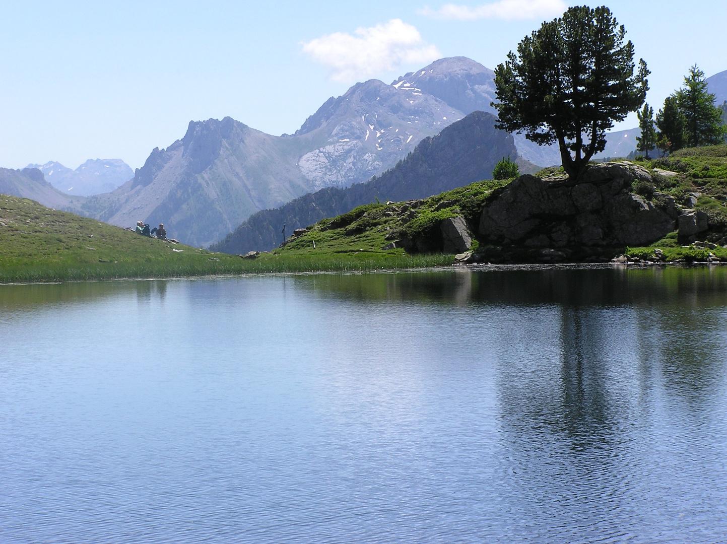 Lac bleu (quatro)
