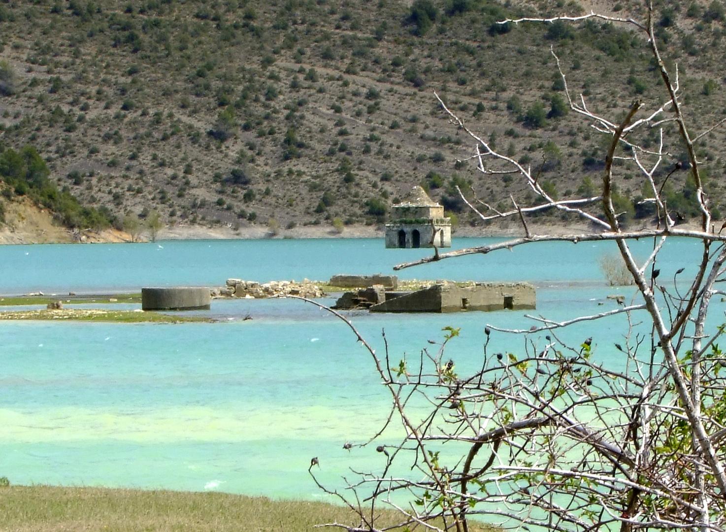 Lac d'Aïnsa en Aragon