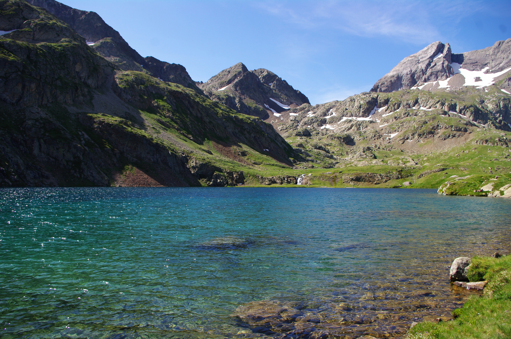 Lac d'arratille (2528 m)