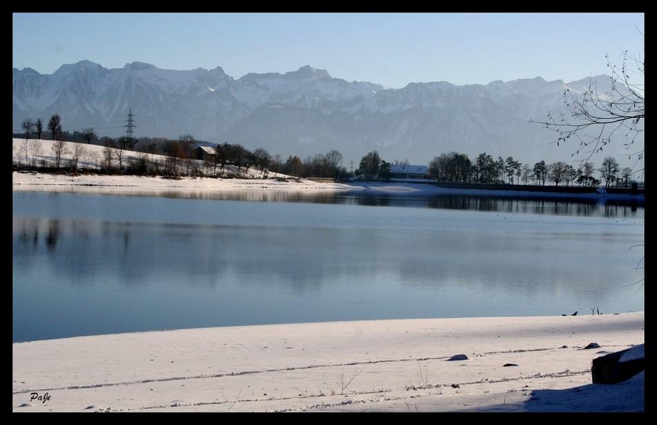 Lac de Bret (Suisse)
