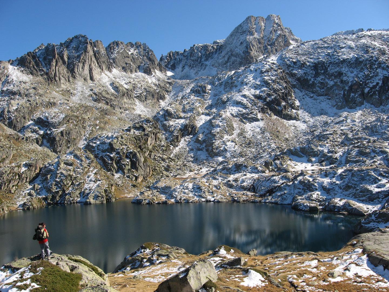 Lac de la Mourelle (versant de la glère ) et Néouvielle