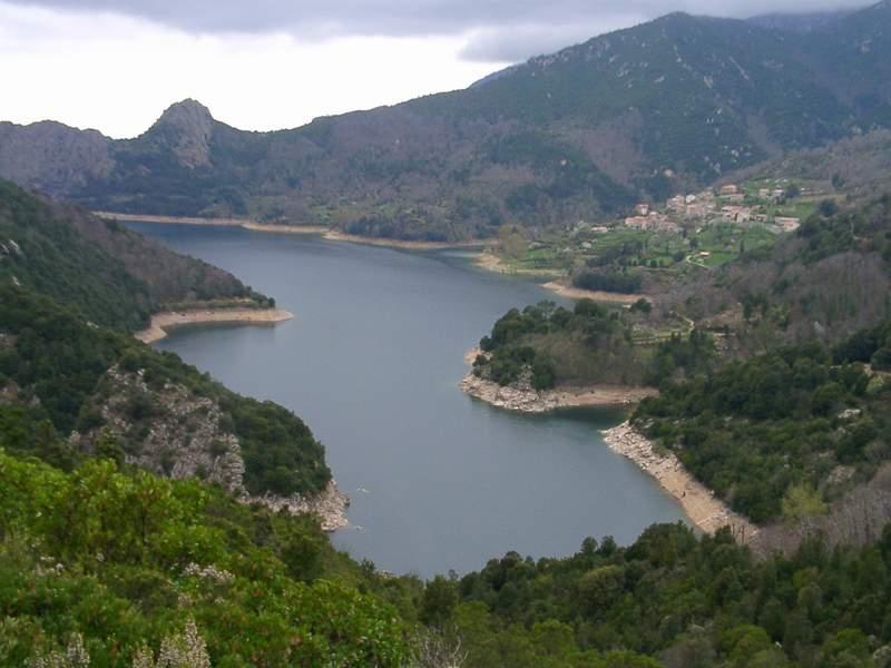 """"""" LAC DE TOLLA """" (Corse)"""