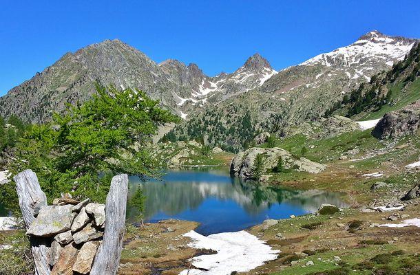 Lac de trecolpas lundi à 10h00 , belle journée !!!