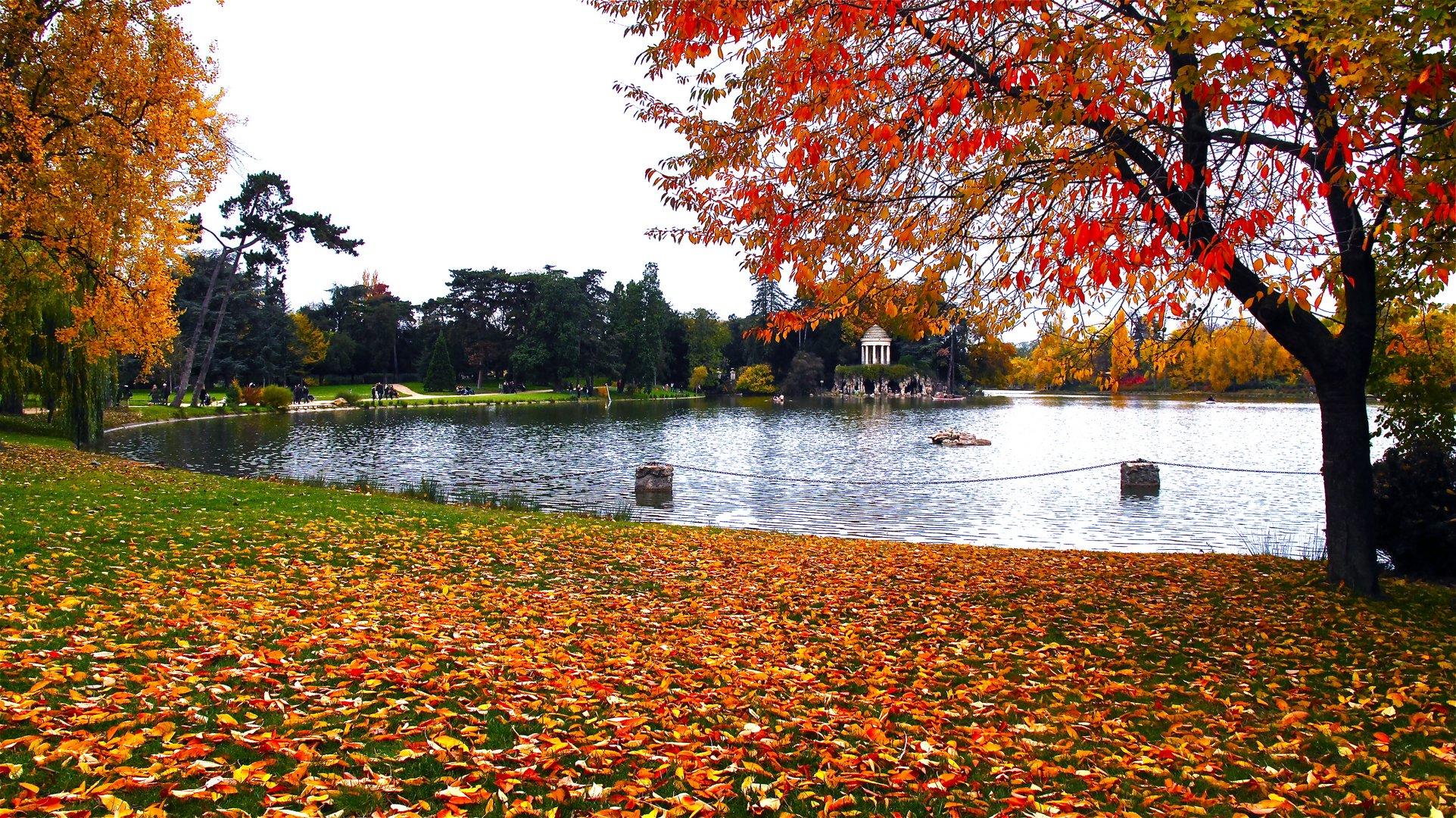 lac de vincennes Toussaint 2010