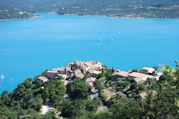Lac, des Alpes haute provence