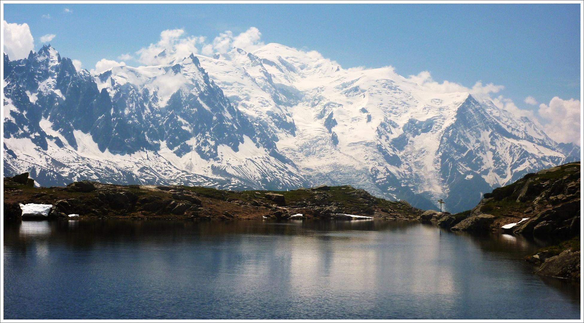 Lac des Chésery (au-dessus de Chamonix)
