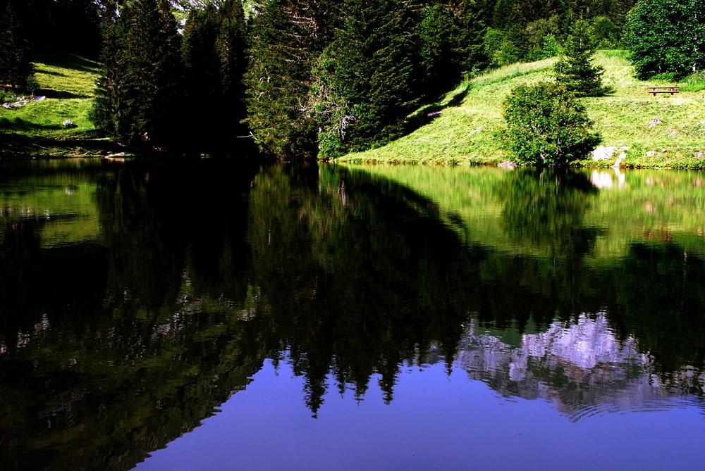 lac des fontaines haute savoie