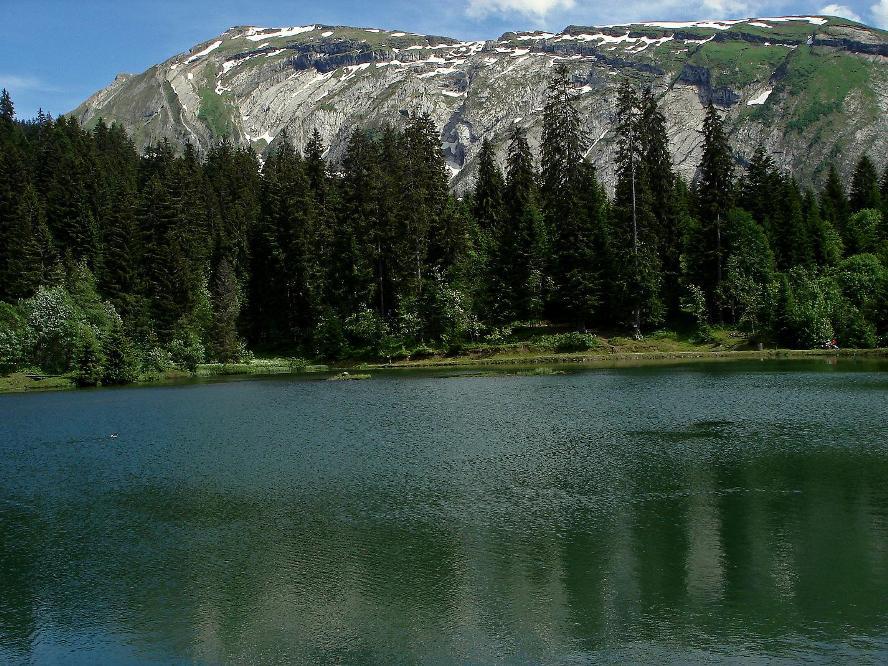 Lac des MINES D'OR (au-dessus de Morzine en hte-savoie)