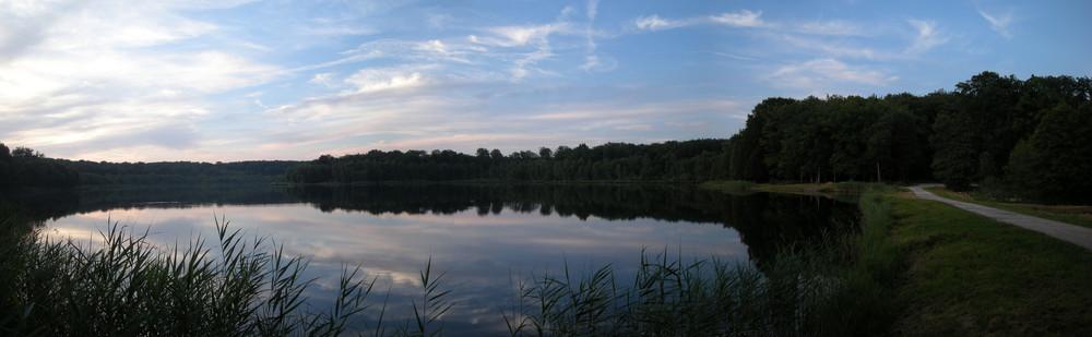 Lac des Monts Revaux à Saint-Germain ( haute saone )