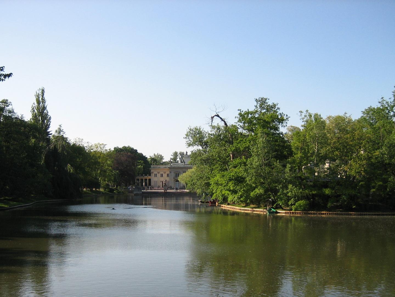 Lac du Parc Lazienki