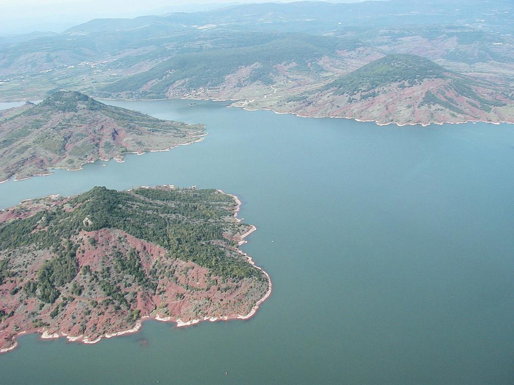 lac du Salagou Herault