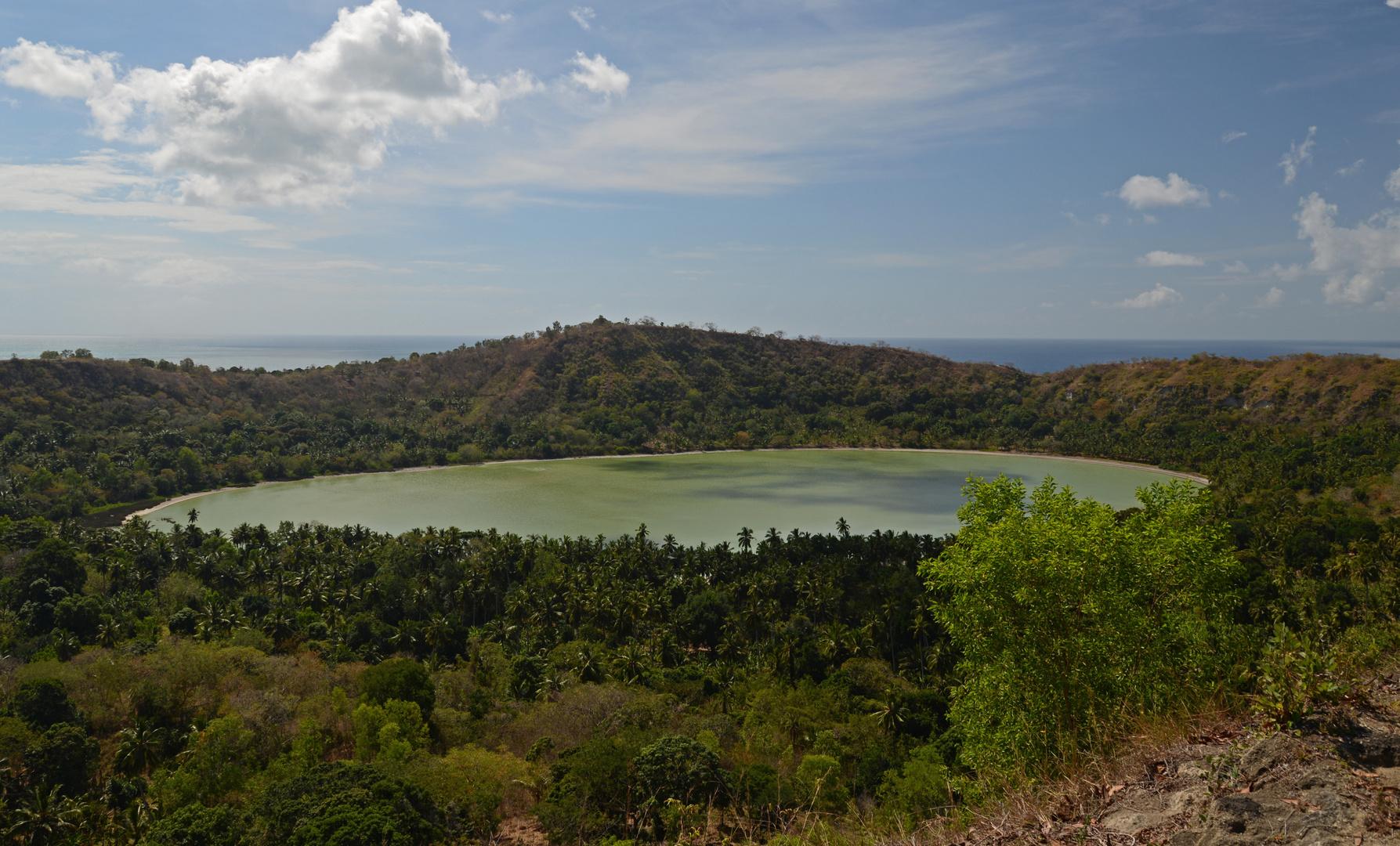 Lac Dziani - Der Vulkansee von Mayotte