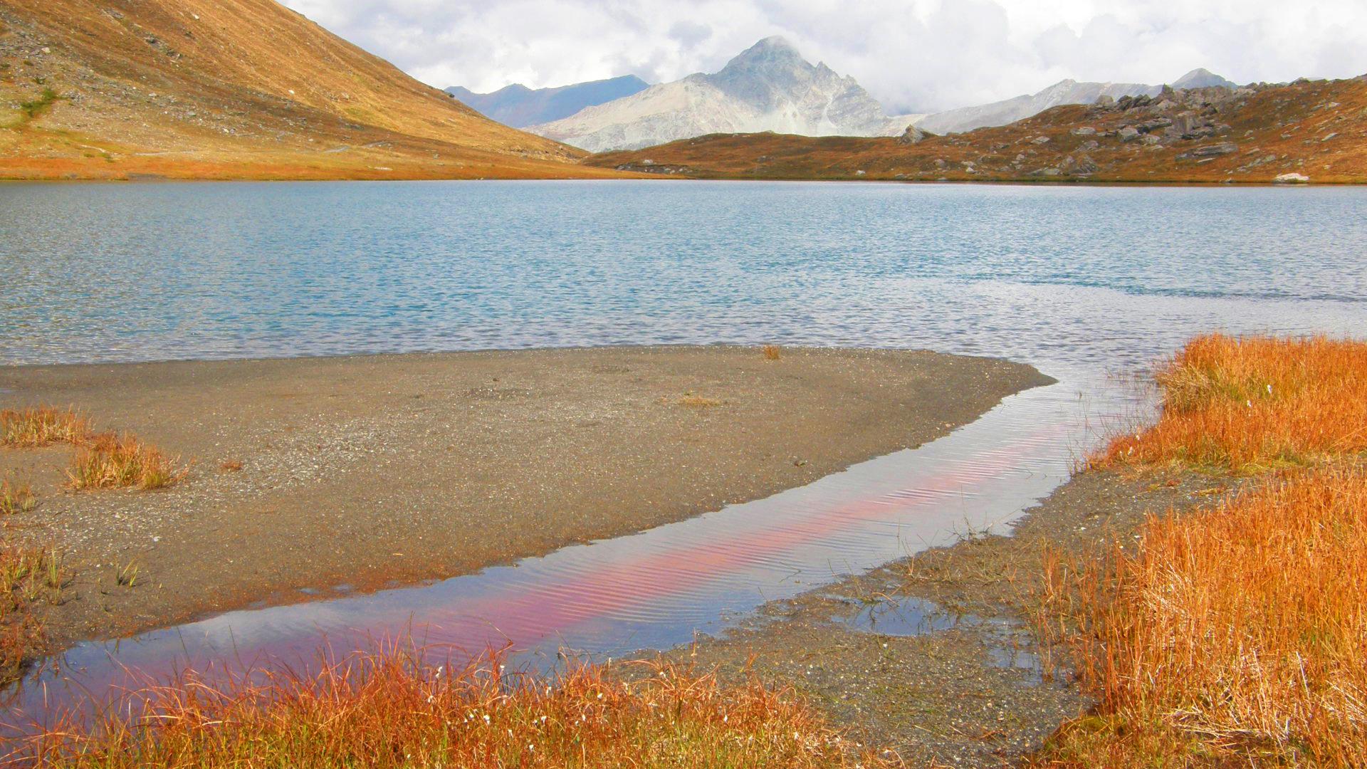 Lac Egorgéou 2394 m.