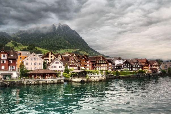 Lac en Autriche