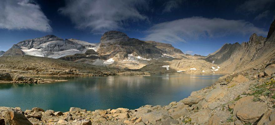 Lac Glacé du Marboré... avec le Mont-Perdu