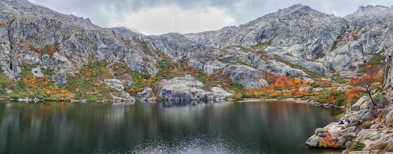Lac Mélo . Corse