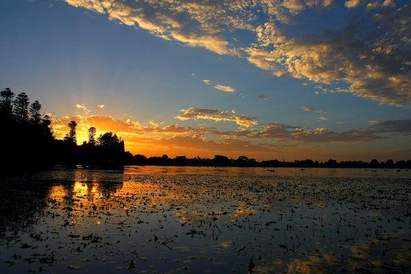 Lac Monger Australie