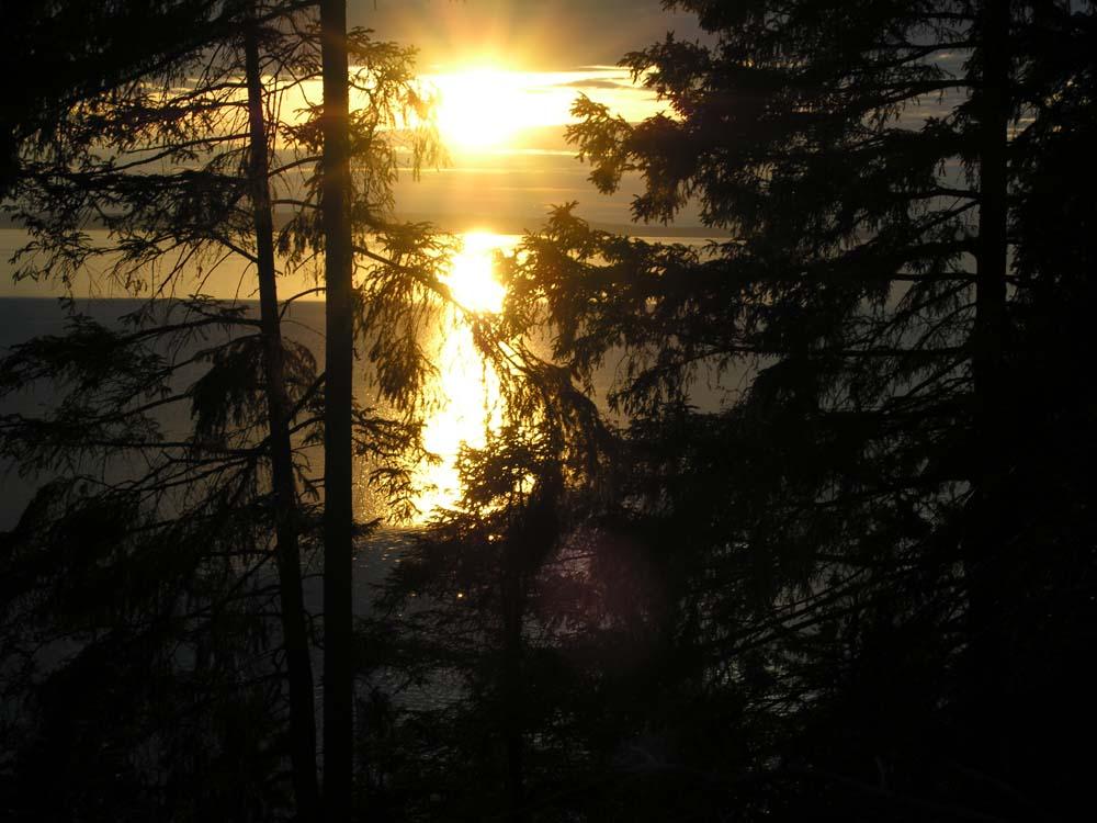 Lac Vattern en Suède