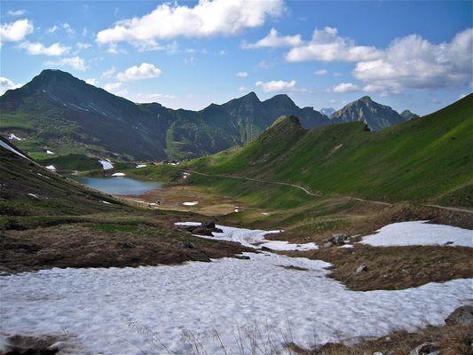 Lac vert - Champoussin - Valais