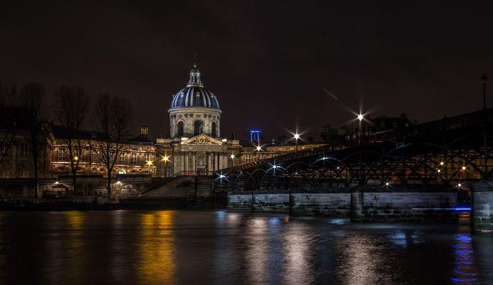 L'academie française et le pont de Arts