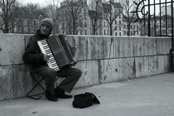 l'accordéonniste...