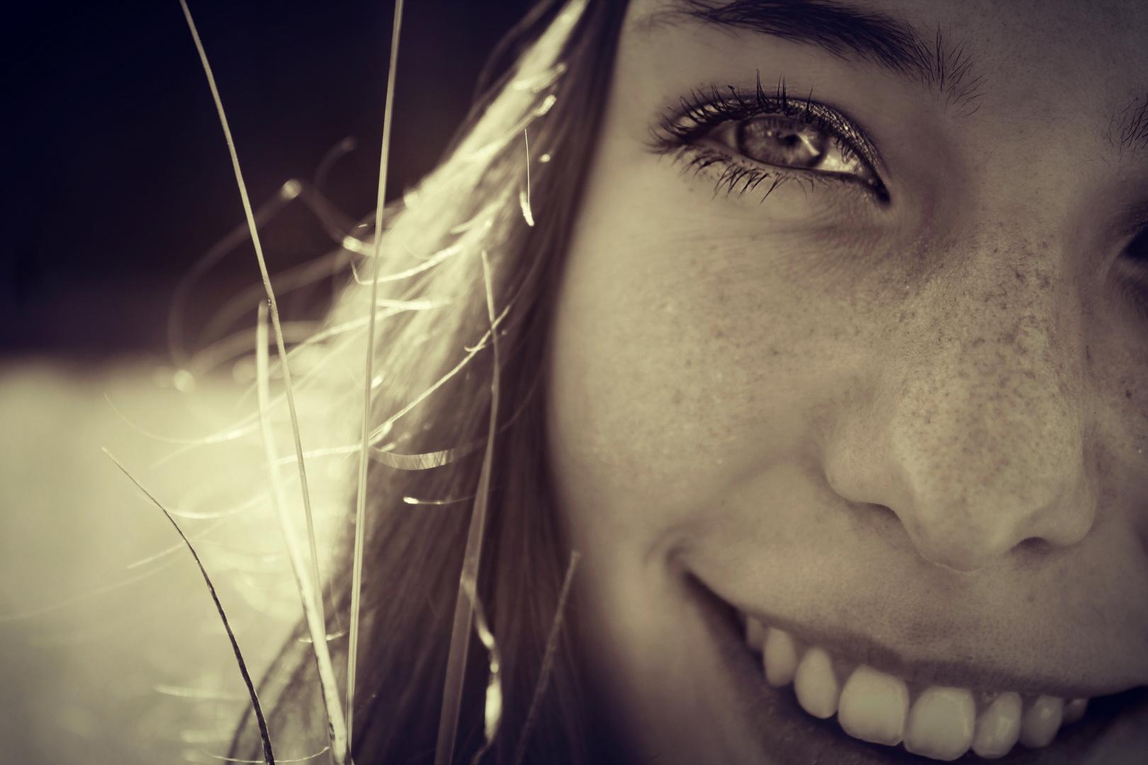 Lache und der Tag gehört dir