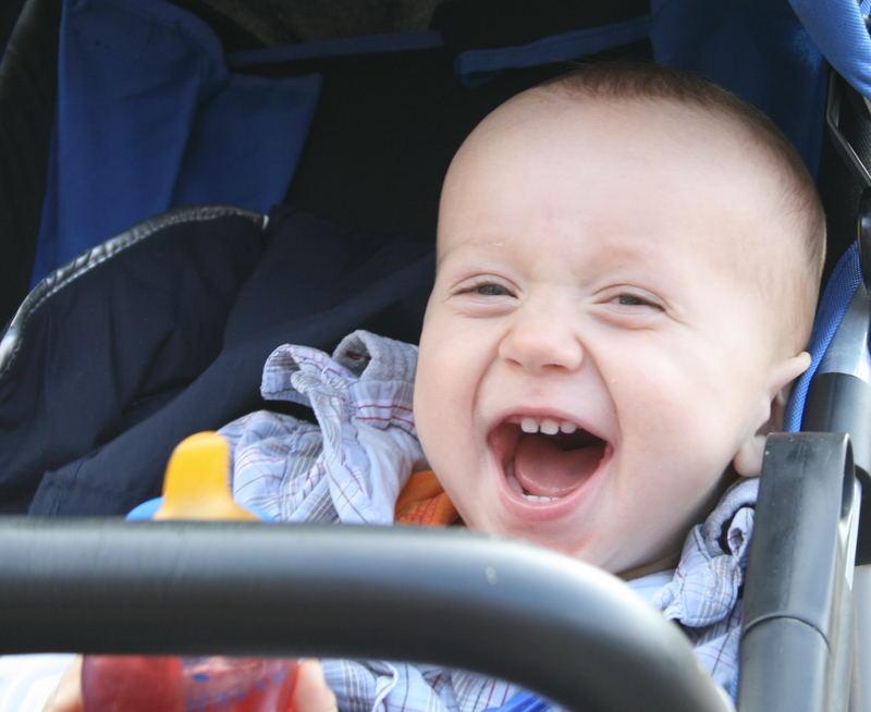 Lachen macht Spaß