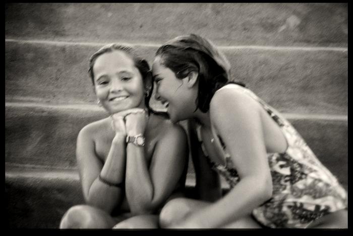 ... lachende Mädchen ..., Lanzarote 1995