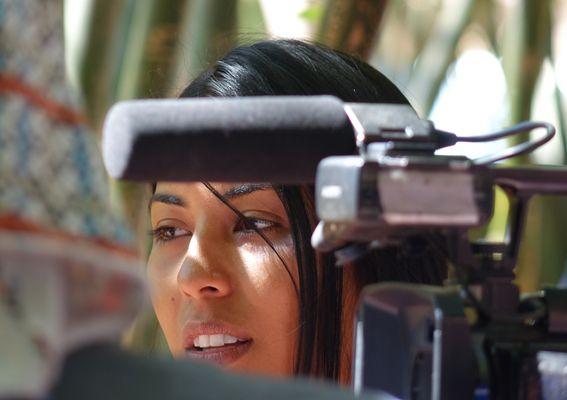 l'actrice marocaine