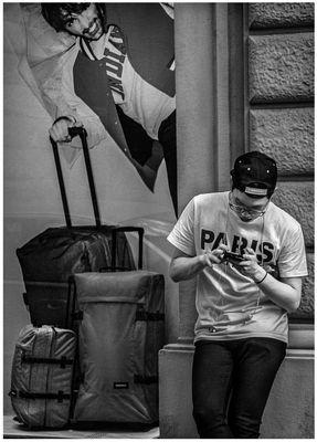 Ladro di valigie