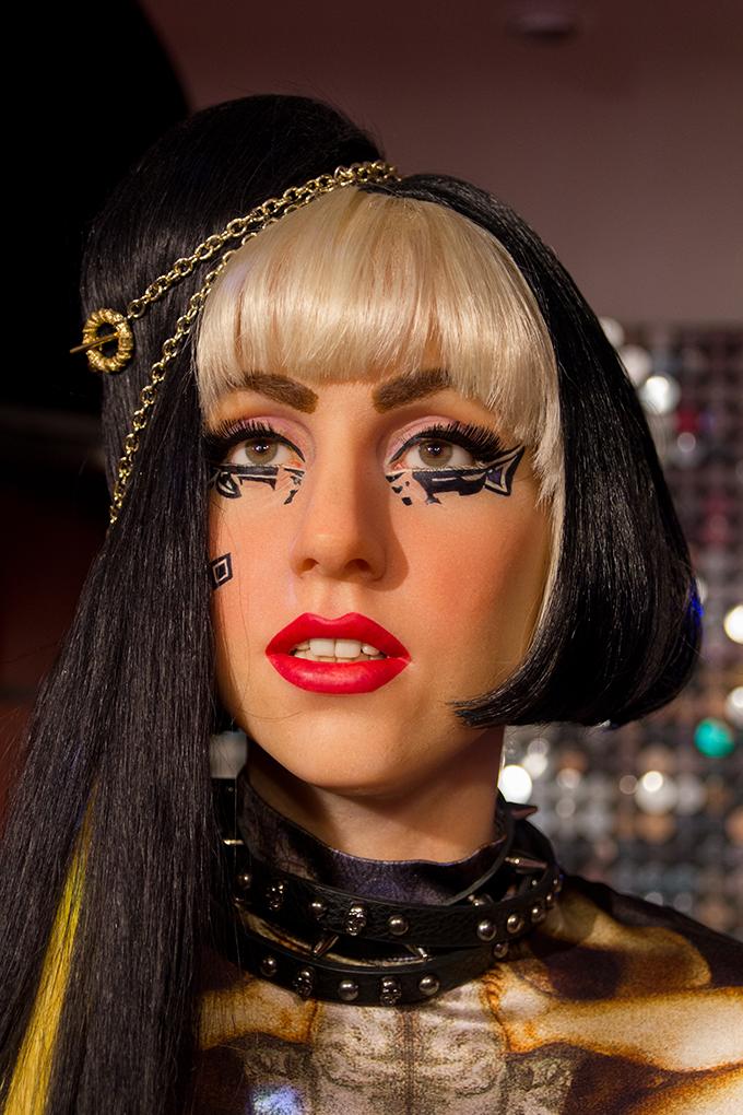 Lady Gaga bei Madame Tussauds