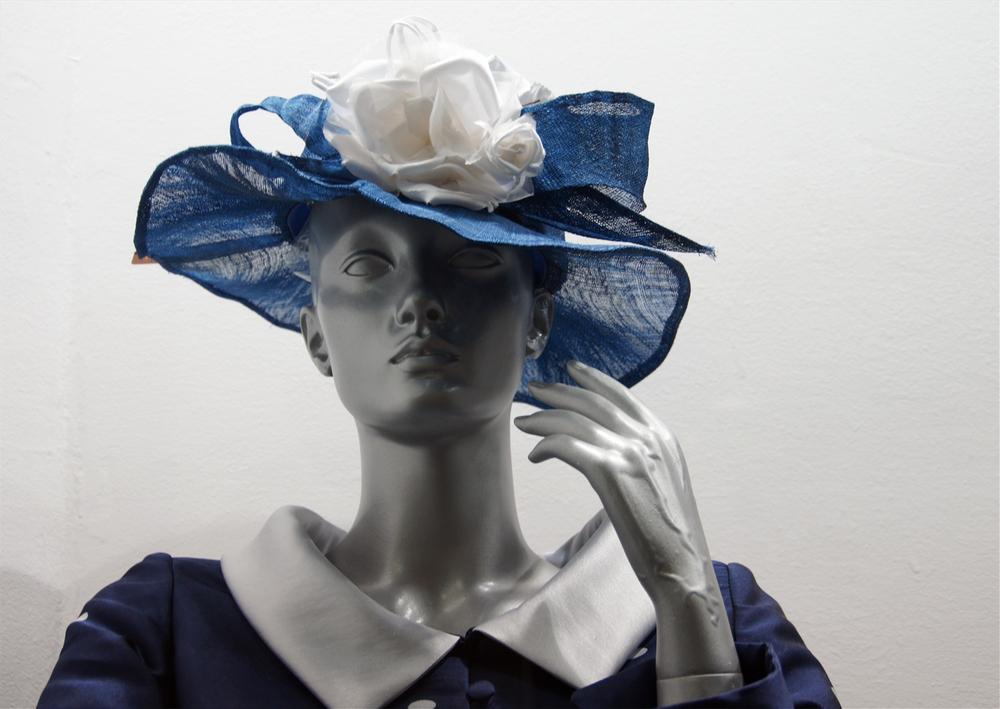 ..Lady in blue..