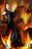 Lady in fire