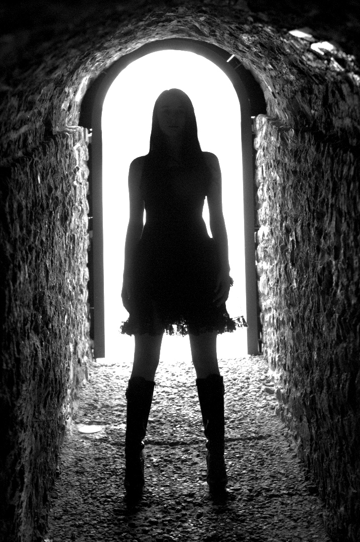 Lady in light