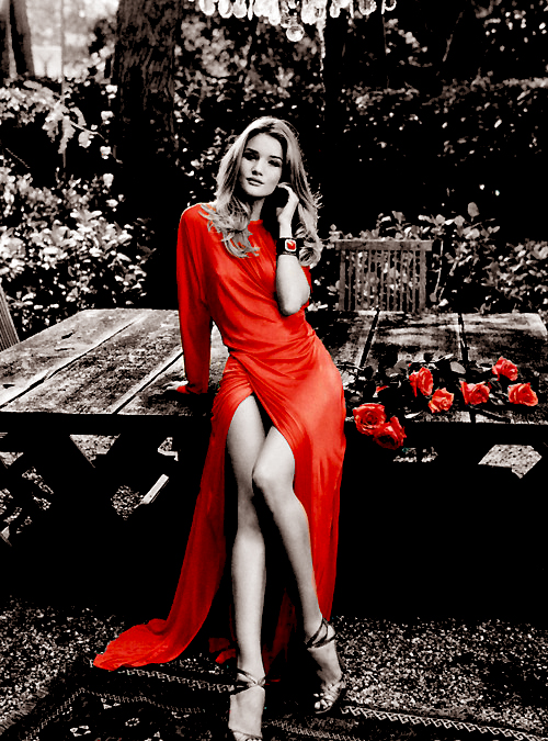'Lady in Red'