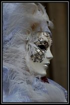 Lady in weiß