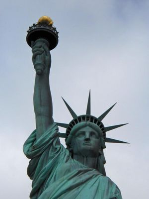 Lady Liberty frontal