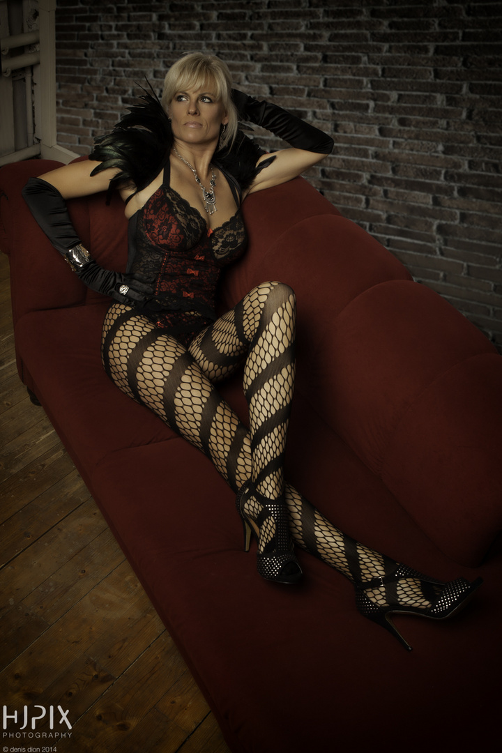 Lady on Lounge