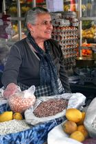Lady on the Bolhão Market