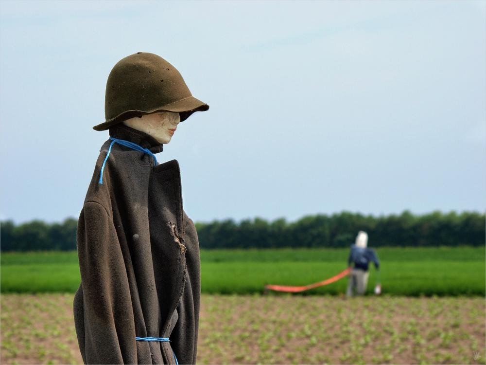 lady scarecrow
