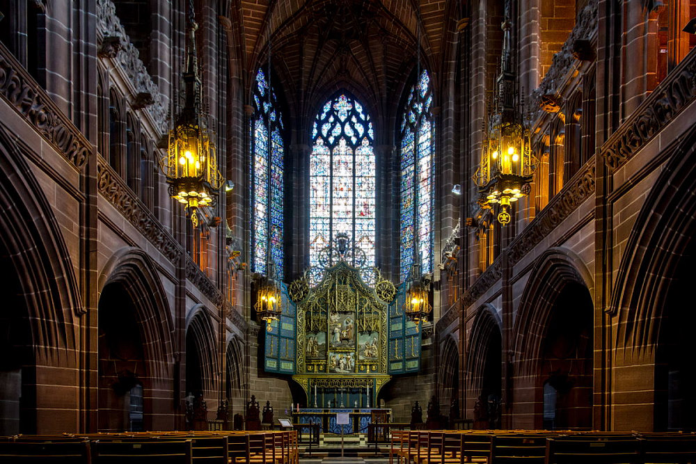 Ladys Chapel in der Liverpool Cathedral