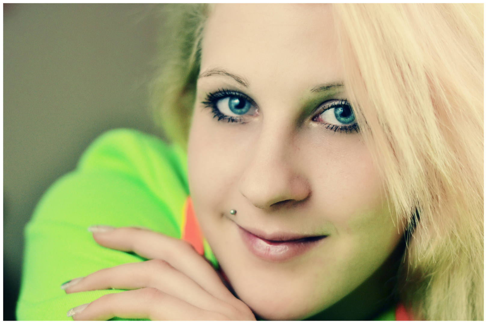 lächel dich an :)